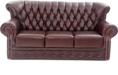Furnicity Leatherette 3 Seater Sofa