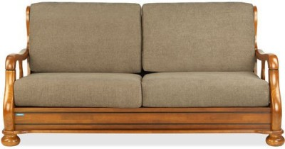 Nilkamal Melbourne Solid Wood 3 Seater Sofa