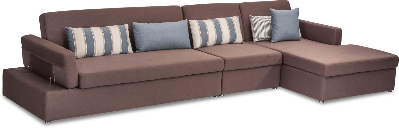 Durian RAYMOND Fabric 6 Seater Sofa class=