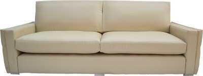 Furnstyl Parcour Leather 3 Seater Sofa