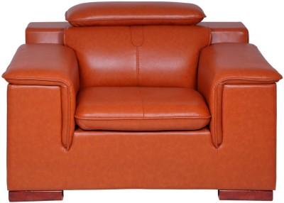 Evok Madrid Leatherette 1 Seater Sofa
