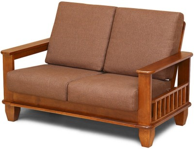 @home by Nilkamal Elena Solid Wood 2 Seater Sofa