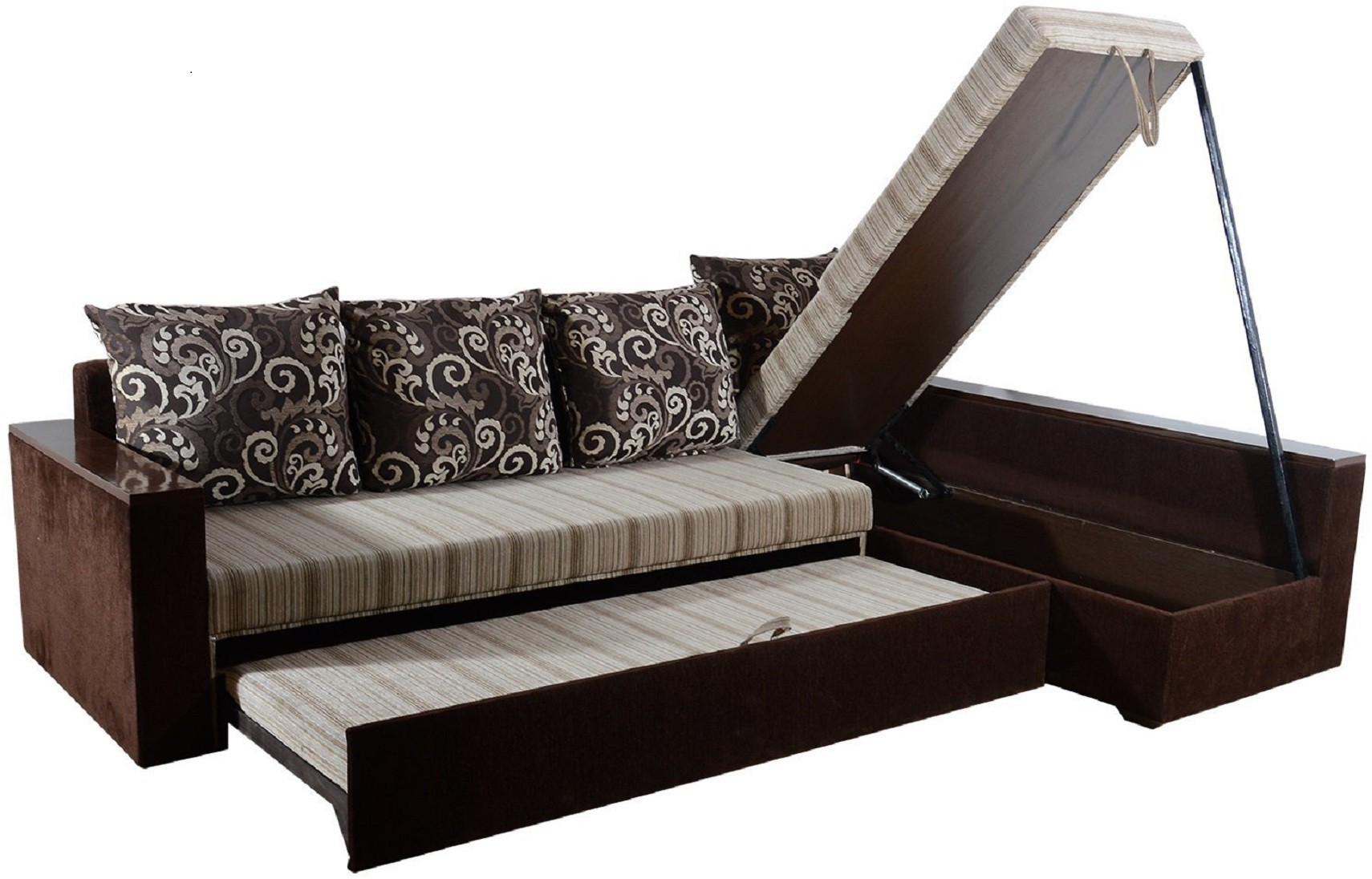 View RAWAT CZ Solid Wood 4 Seater Standard(Finish Color - Multicolour) Furniture (RAWAT)