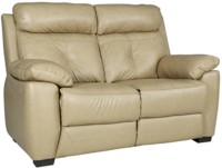 HomeTown Manhattan Half-leather 2 Seater Sectional(Finish Color - Beige)