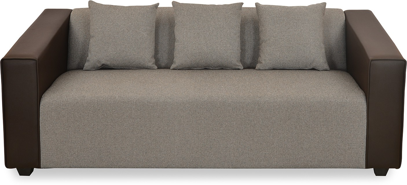 @home by Nilkamal Fabric 3 Seater Sofa