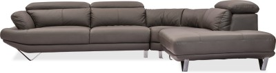 Durian Omega Leather 6 Seater Sectional