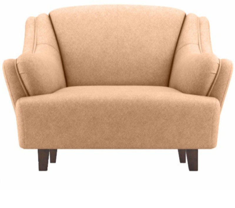 Fabhomedecor Austin Solid Wood 1 Seater SofaFinish Color