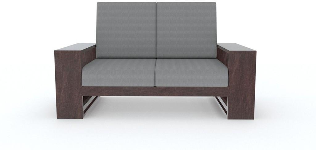 TEZERAC Solid Wood 2 Seater Sofa
