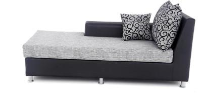 Furnicity Leatherette 3 Seater Sofa(Finish Color - Grey)