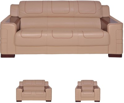 Evok Vienna Leatherette 3 Seater Sofa