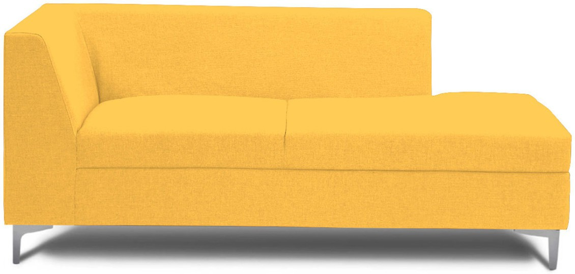 View Stoa Paris Fabric 3 Seater Sectional(Finish Color - Yellow) Price Online(Stoa Paris)