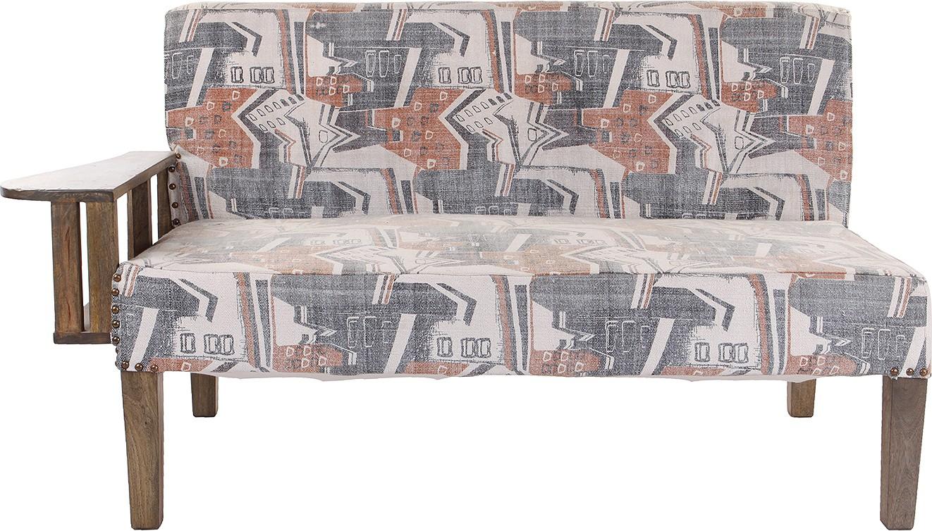 View Natural Fibres Export Solid Wood 2 Seater Sofa(Finish Color - Brown) Furniture (Natural Fibres Export)