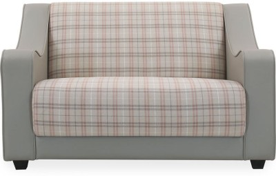 @home by Nilkamal Plaid Synthetic Fiber 2 Seater Sofa