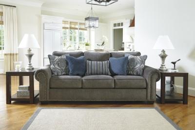 Ashley Fabric 3 Seater Sofa