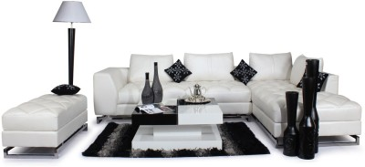Homecity Leatherette 6 Seater Sofa