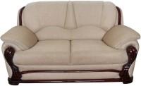 Vintage Ivoria Solid Wood 2 Seater Sofa(Finish Color - MAHOGANY)