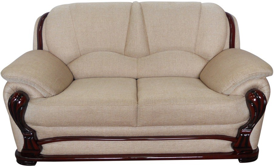 Vintage Ivoria Solid Wood 2 Seater Sofa