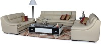 Home City Leatherette 3 + 2 + 2 Beige Sofa Set(Configuration - Straight)