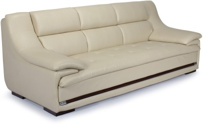 Homecity Leatherette 3 Seater Sofa
