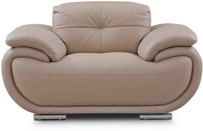 Evok Half-leather 1 Seater Sofa