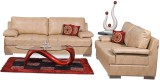 Homecity TOBY Leatherette 3 + 2 Beige So...