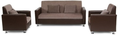 Westido Solid Wood 3 + 1 + 1 Sofa Set