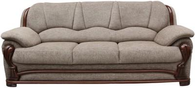 Vintage Ivoria Solid Wood 3 Seater Sofa