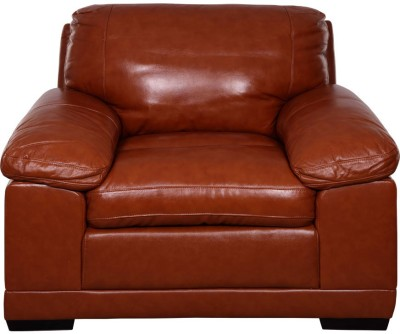 Evok Alison 1 Seater Half-leather 1 Seater Sofa