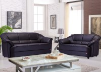 Durian BERRY/55001/C Leatherette 3 + 2 COFFEE BROWN Sofa Set(Configuration - Straight)
