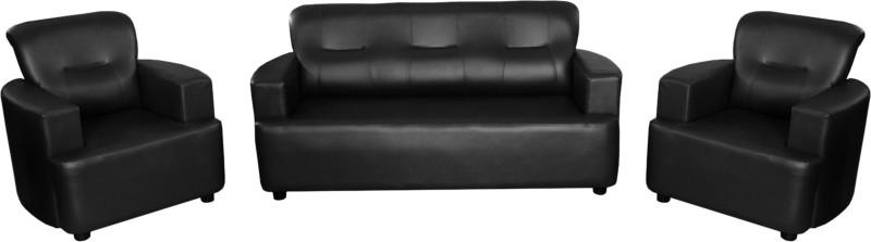 Knight Industry Foam 3 + 1 + 1 BLACK Sofa...