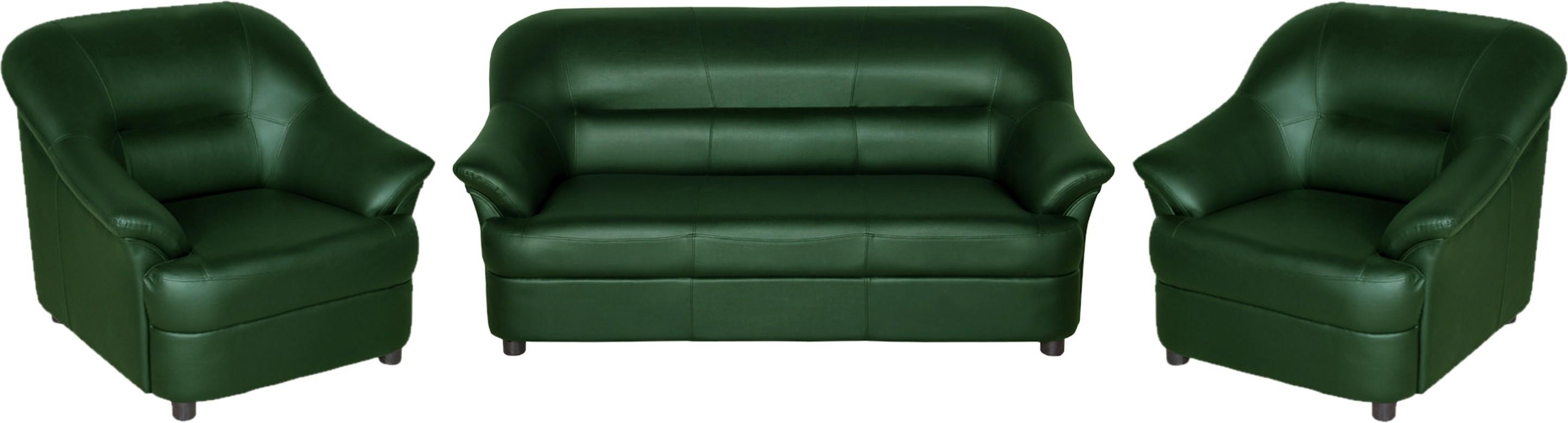 View Sethu Furniture Fabric 3 + 1 + 1 Green Sofa Set(Configuration - Straight) Furniture (Sethu Furniture)