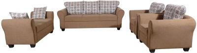 RAWAT Nano 1 Solid Wood 3 + 2 + 1 + 1 Multicolour Sofa Set(Configuration - L)