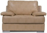 Homecity TOBY Leatherette 1 Seater Sofa ...