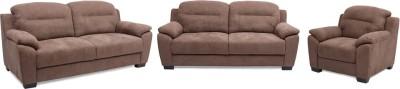 Evok Poland Fabric 3 + 2 + 1 Coffee Sofa Set