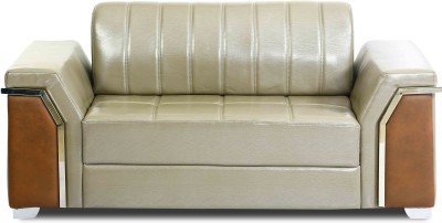 Homecity Leatherette 2 Seater Sofa