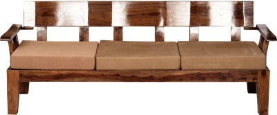 Induscraft Solid Wood 3 Seater Sofa
