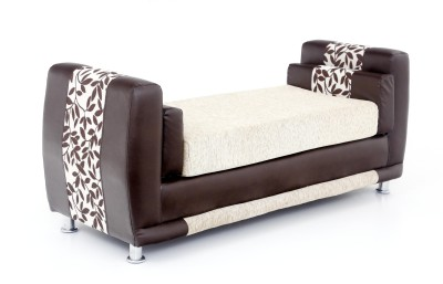 Furnicity Fabric 1 Seater Sectional(Finish Color - Beige)