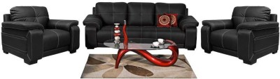 Homecity GLORIA Leatherette 3 + 1 + 1 Sofa Set