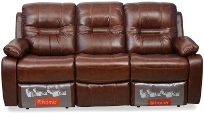 @home by Nilkamal Wilson Half-leather 3 Seater Sectional