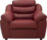 Wood Pecker Leatherette Sectional Maroon...