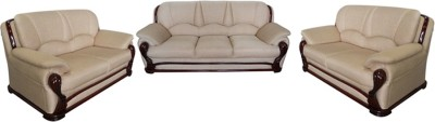Vintage Ivoria Solid Wood 3 + 2 + 2 MAHOGANY Sofa Set(Configuration - Straight)
