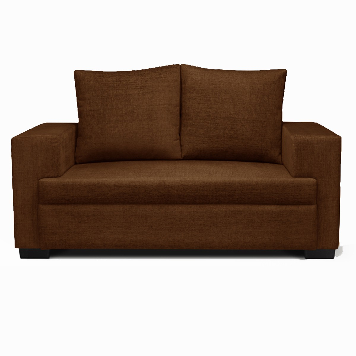 View Sethu Furniture Fabric 2 Seater Sofa(Finish Color - Coffee) Furniture (Sethu Furniture)