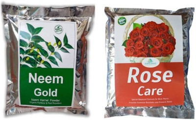 Casa De Amor Neem Gold and Rose Care Combo Soil Manure