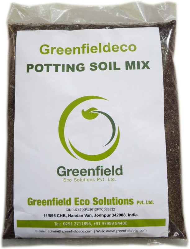 Greenfieldeco 100% Organic Potting Mix For Organic Growers Woody Plants And Perennials In Containers Foliage Plants Bromeliads Cactus And Succulents Bonsai Etc. Soil Manure(900 g Powder)
