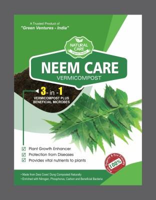 Green Ventures India Neem Care - Vermicompost Soil Manure(1 kg Powder)