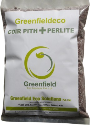 Greenfieldeco COIR PITH(COCOPEAT) MIXED WITH PERLITE Soil Manure