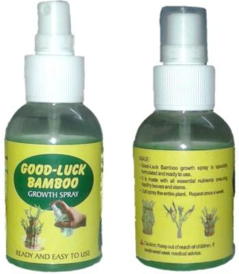 Gooddeals Lucky Bamboo Growth Fertilizer Spray 100 ml x 2 Bottles Soil Manure