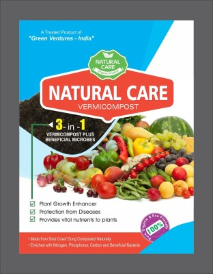 Green Ventures India Nature Care Soil Manure(1 kg Powder)