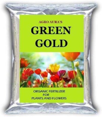 Agro Aura (Green Gold) Potting Soil Mix Organic Fertilizer For Plants and Flowers (1Kg) Soil Manure