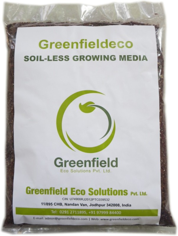 Greenfieldeco High Quality Soil-Less Growing Media Soil Manure(1.8 kg Powder)
